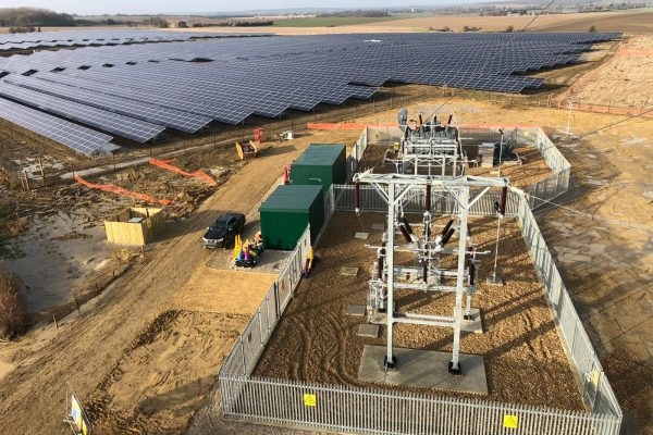 NESF lauds switch on of 'UK's largest' subsidy-free solar site